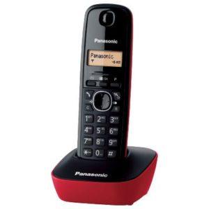 PANASONIC telefon bežični KX-TG1611FXR crveni