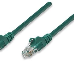 Intellinet prespojni mrežni kabel Cat.5e UTP PVC 1m zeleni