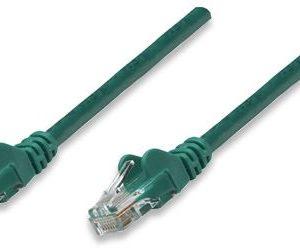 Intellinet prespojni mrežni kabel Cat.5e UTP PVC 3m zeleni