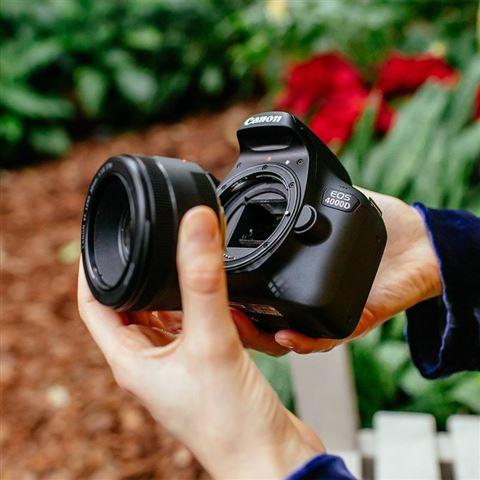 CANON DSLR fotoaparat 4000D EFS18-55BK 3011C018AA