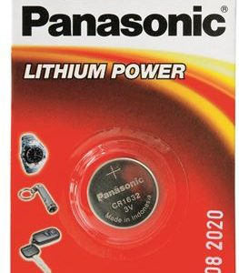 PANASONIC baterije male CR-1632EL/1B Lithium Coin