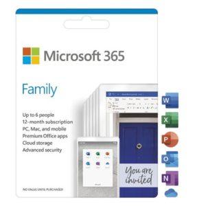 FPP Microsoft 365 Family English Subscr 1YR CEE
