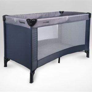 Primebebe krevetić putni Dormi sivi