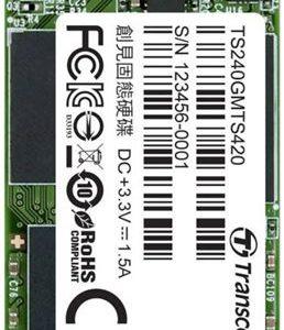 SSD 240GB TS MTS420S M.2 2242 SATA