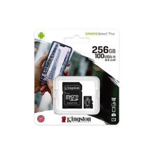 MEM SD MICRO 256GB Canvas Plus + ADP