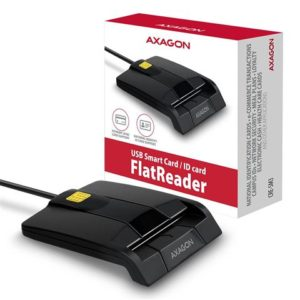 Čitač pametnih kartica AXAGON CRE-SM3 USB 2.0