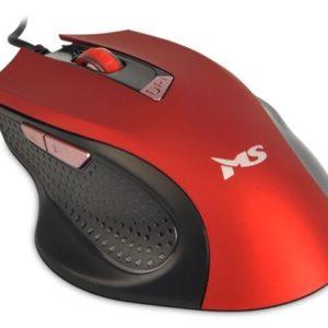 MS FOCUS C116 žičani miš crveni