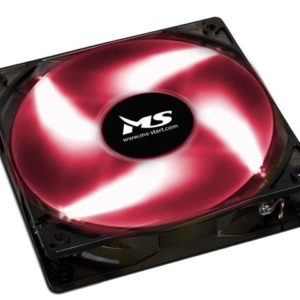 MS FREEZE L120 crveni fan 12 cm